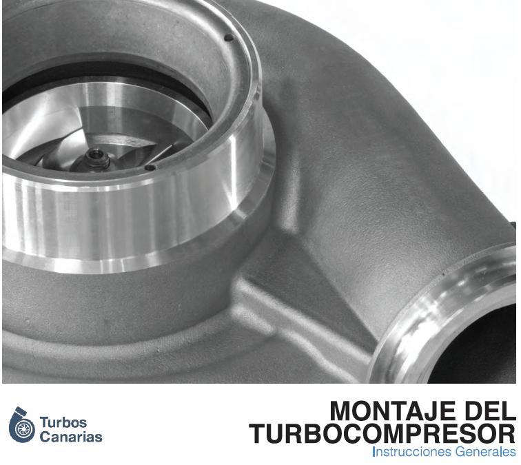 Instrucciones de montaje del turbo