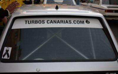 Turbos Canarias patrocina el coche de Juan José Quintana