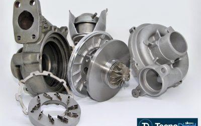 Proceso de reconstrucción de un turbo
